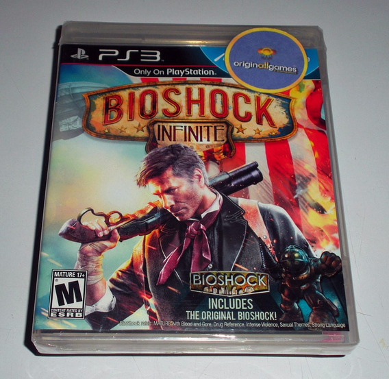 Bioshock Infinite ¦ Jogo Ps3 Original Lacrado ¦ Mídia Física