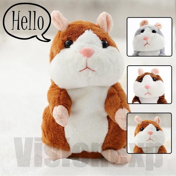 Hamster Falante Dança Repete Qualquer Som Brinquedo Criança