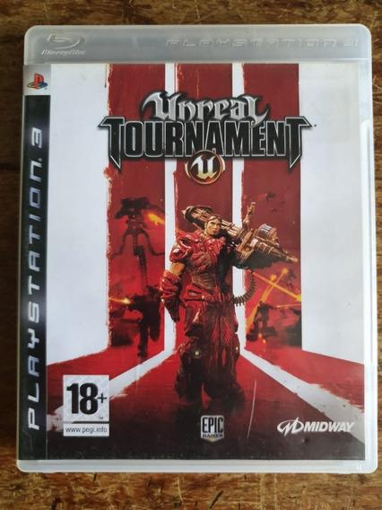 Jogo Unreal Tournament Ps3 Usado