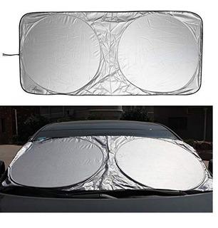 Parasol Protector Solar De Parabrisas Sombrilla Auto 150x70c