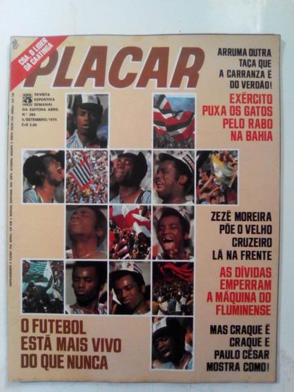 Revista Placar 284 Miniposter River Piaui Cruzeiro Inter1975