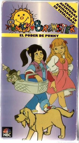 Punky Brewster Vhs Dibujos Animados 1993 4 Capitulos