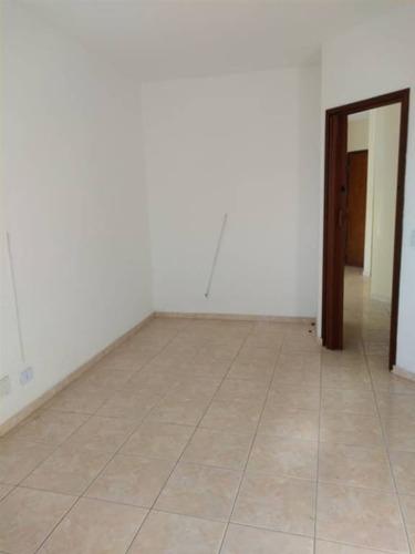 Imagem 1 de 23 de Apartamento No Canto Do Forte/pg, Com Um Dormitório, Sala Com Sacada E Uma Vaga De Garagem. - Nff34