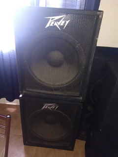 Subwoofer Peavey Pv118 En Impecable Estado