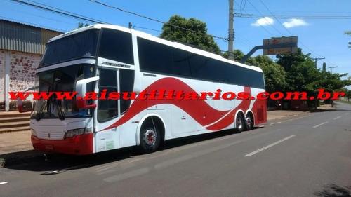Imagem 1 de 9 de Busscar P-400 Ano 2000 Scania K113 6x2 Turismo Ais Ref 607