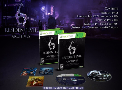 Resident Evil 6 Archives Fisico Nuevo Xbox 360 Dakmor