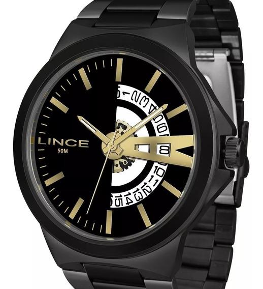 Relógio Lince Grande Masculino Mrn4575s P1px Original + Nota