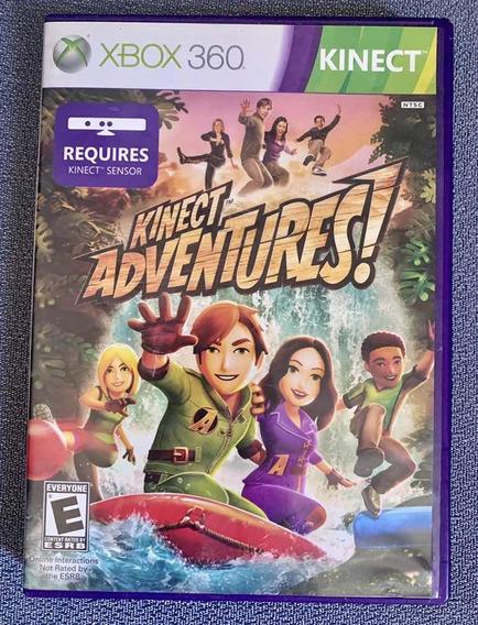 Jogo Microsoft Xbox 360 Kinect Adventures