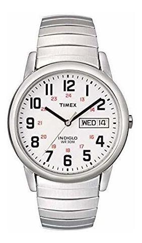 Reloj Timex Para Hombres Elegante Y Con Lectura Sencilla.
