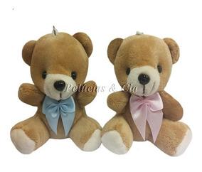 Mini Chaveiro Urso Baby Jg 15pçs - Lembrancinhas Maternidade