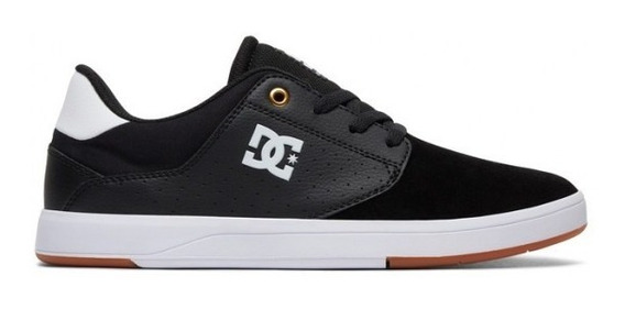 Zapatillas Dc Plaza Tc Hombre Skate Urbana Dc Negro