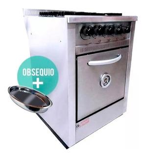 Cocina Industrial Fornax 4 H 60cm Rejilla Fundicion Ahora 12