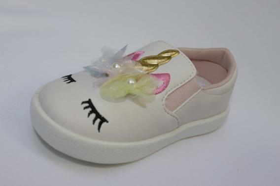 Tenis /sapato Infantil Menina Unicórnio - Camin N.22