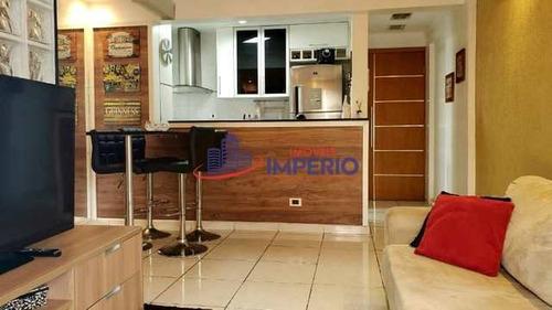 Apartamento Com 2 Dorms, Vila Mazzei, São Paulo - R$ 350 Mil, Cod: 6968 - V6968
