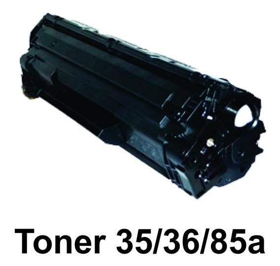 Toner Compatível Hp 35a /36a / 85a Rf - Kit 10