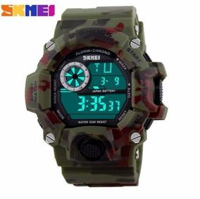 Skmei Gstyle Homens Led Militar Digital De Relógio De Mergul