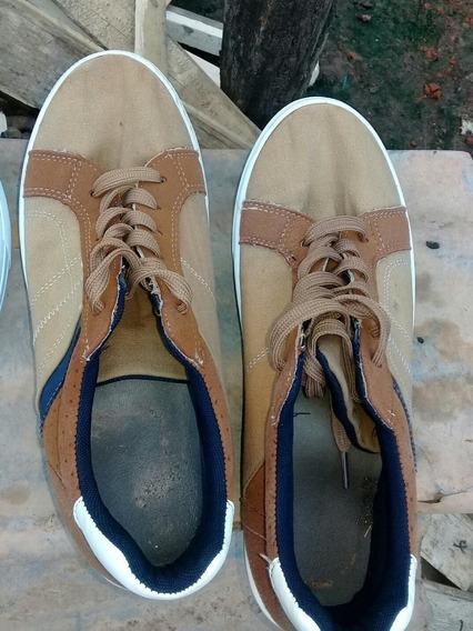 Zapatillas Color Mostaza, Talla 42