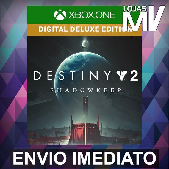 Destiny 2 Fortaleza Das Sombras Deluxe Xbox Codigo 25 Digito
