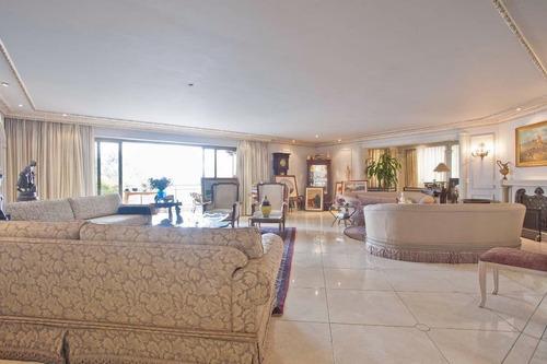 Apartamento, 500 M² - Venda Por R$ 8.500.000,00 Ou Aluguel Por R$ 33.000,00/mês - Higienópolis - São Paulo/sp - Ap23489