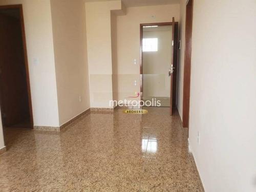 Imagem 1 de 5 de Apartamento Com 1 Dormitório Para Alugar, 51 M² Por R$ 1.400,00/mês - Nova Gerti - São Caetano Do Sul/sp - Ap4663