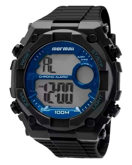 Relógio Mormaii Digital Preto Moy1538/8a - Frete Grátis!