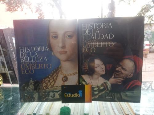 Historia De La Fealdad,historia De La Belleza
