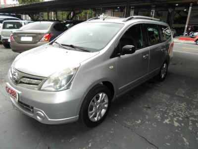 Nissan / Grand Livina 1.8 S 2013 Prata