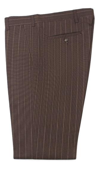 Pantalón Slim Rayado De Hombre Jitpants