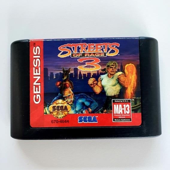 Streets Of Rage 3 Mega Drive Genesis Original