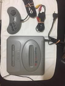 Mega Drive 3 Cinza 60 Super Jogos Na Memória Tectoy