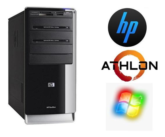 Pc Desktop Hp Pavilion 2,2 Ghz 500gb 4gb Cd-dvdw Seminovo!