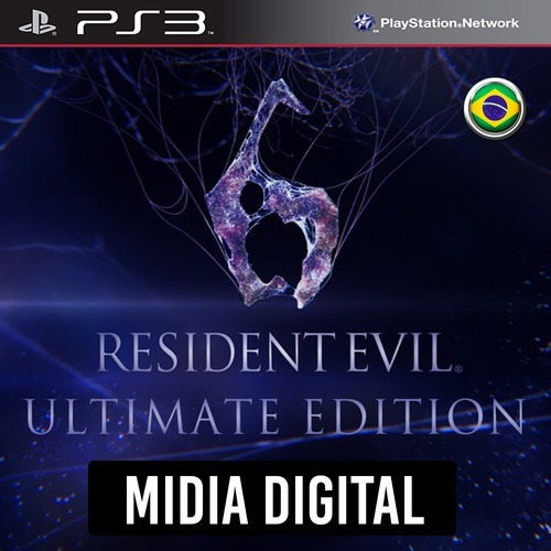 Resident Evil 6 Ultimate Edition - Ps3 Psn*