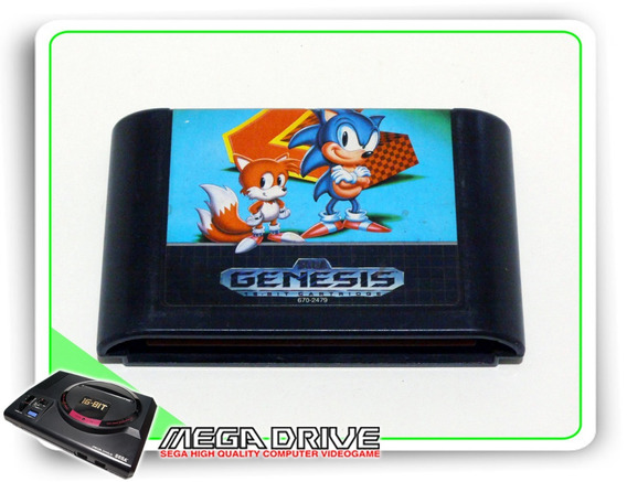 Sonic The Hedgehog 2 Original Sega Genesis - Mega Drive