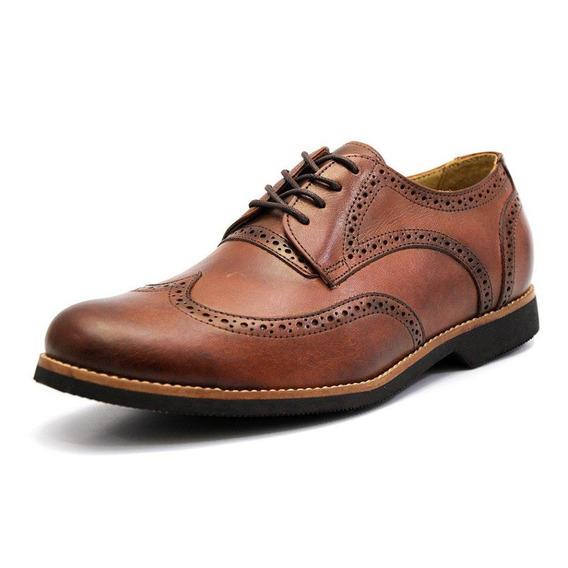 Sapato Masculino Tamanho Especial Oxford Inglês Mod. 6810 Gs