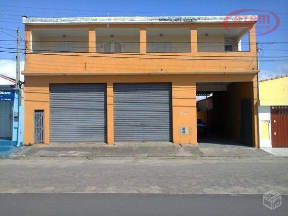 Salão Comercial Com Moradia, Centro, Peruíbe - Sa0059. - Sa0059