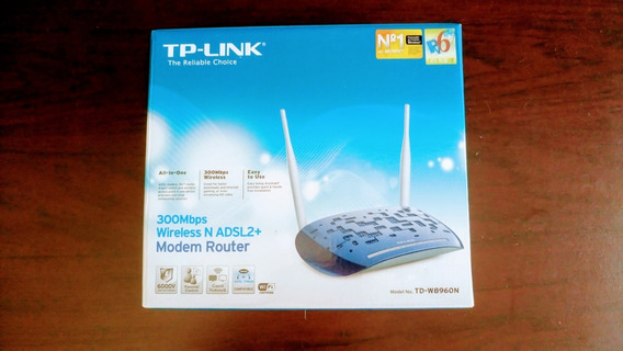 Modem Router Tp-link - 300 Mbps Wireless N Adsl2+