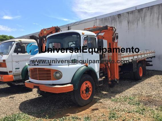 Caminhão _ Mb 1113 Munck Argos Agi 9500