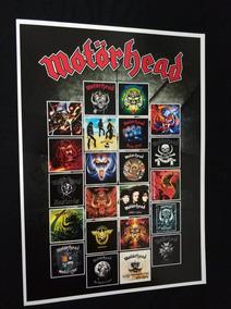 Poster Motörhead Cartaz Motörhead Discografia Heavy Metal