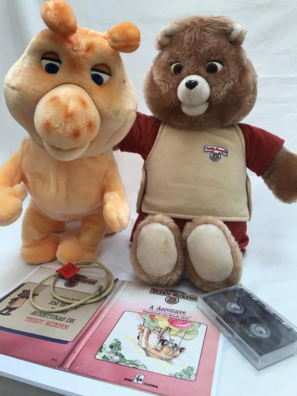 Urso Teddy Ruxpin E Grubby Tectoy - Funcionando -veja Video!
