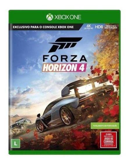 Forza Horizon 4 Xbox One Midia Fisica - Novo - Lacrado - 4k