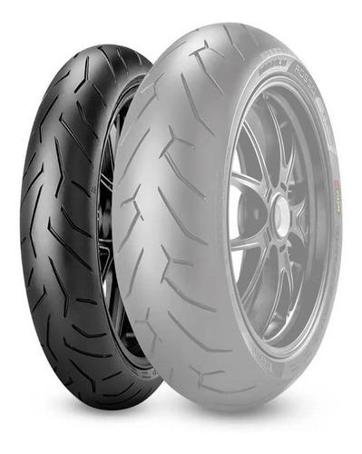 Cubierta 110 70 17 Pirelli Diablo Rosso 2 Motomel Gt 250-