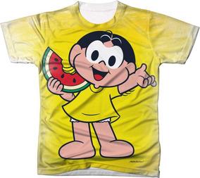 Camisa Camiseta Turma Da Mônica Magali Melancia Festa
