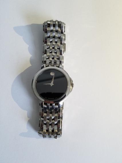 Reloj Movado Black Museum 84-e4-9872 Acero