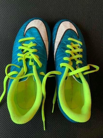 Botines Nike Hypervenom Niños 1 Uso !
