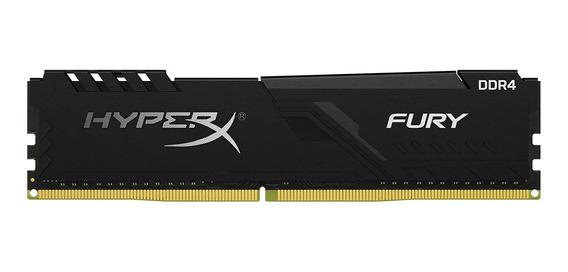 Memoria Ram Ddr4 8gb Gamer Kingston Hyperx Fury 2400 Mhz Ds