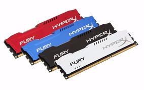 Memória Kingston Hyperx Fury Ddr3 4gb 1600mhz