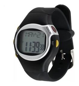 Relógio Sport Caloria Frequência Monitor Batimento Cardíaco