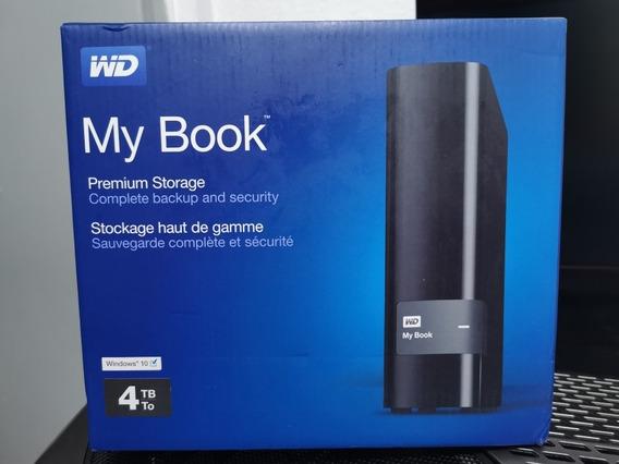 Western Digital My Book 4tb Premium 4000gb Hd Externo Wd