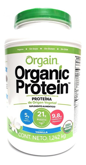 Proteina Vegana Organic Variedad Sabores 1.24 Kg Envío Full