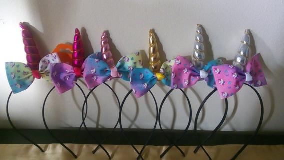 Diademas Para Niña Unicornio Set Con 6 Piezas Nuevas